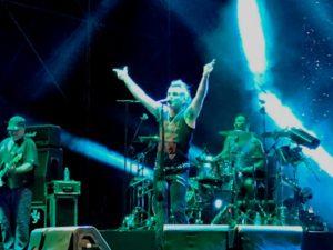 Grande successo per il concerto dei Litfiba a Crotone