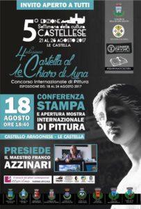 Inaugurata la mostra internazionale di Pittura presso il Castello Aragonese – Le Castella