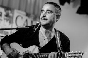 """Il cantautore calabrese Antonio Pascuzzo al """"Jazz Italiano per le terre del sisma"""""""