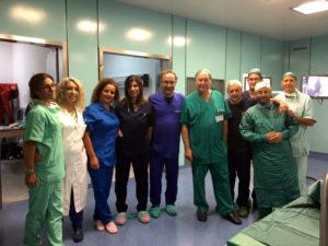 Eseguito impianto defibrillatore in una paziente in pericolo di vita