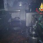 FOTO   Incendio in un ristorante di Catanzaro