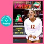 Volley A2 Femminile, il calendario 2017-2018 in Digital Edition