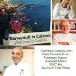 Il famoso chef Francesco Mazzei e i suoi stellati colleghi promuovono una cucina senza sprechi