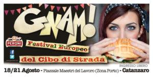 """Catanzaro – Dal 18 al 21 Agosto """"Gnam"""", il Festival europeo del Cibo di strada"""