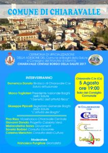 Chiaravalle Centrale è Borgo della Salute, il 5 agosto diventa ufficiale