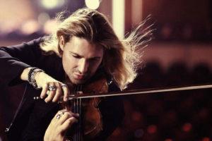Stasera David Garrett a Scolacium con il suo Stradivari per Armonie d'Arte Festival