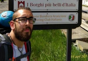 Viaggio a piedi attraverso l'Italia