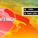 """Arriva  l'anticiclone africano """"Polifemo"""", temperature in aumento anche in Calabria"""