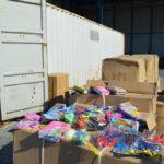Sequestrati di oltre 3mila giocattoli cinesi contraffatti al Porto di Gioia Tauro