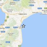 Lieve scossa di terremoto di magnitudo 2.5 a Soverato
