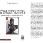 """Catanzaro Lido – Venerdì 29 Settembre presentazione di """"Epitome di storia politica del Regno delle due Sicilie"""""""