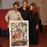 Consegnato anche a George Clooney il premio Fondazione Mimmo Rotella