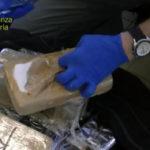 Sequestrato oltre mezzo quintale di cocaina nascosta nei sacchi di carbone, sul mercato valeva circa 10 milioni