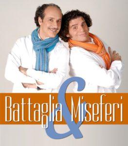 Soverato Superiore – Stasera lo spettacolo di cabaret del duo Battaglia e Miseferi.