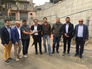 Davoli – Procedono i lavori di messa in sicurezza del muro lungo la Sp 128