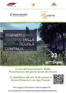 Badolato – Rigeneri@mo i Giardini della Nostra Scuola….. Continua!