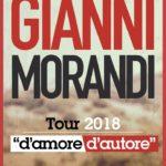 Gianni Morandi in concerto a Reggio Calabria il 15 marzo 2018, partite ufficialmente le prevendite