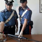 Deteneva arma risultata rubata, 52enne arrestato nel catanzarese