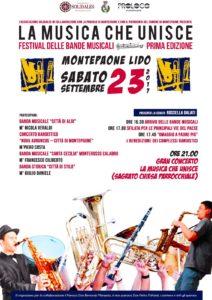 """Montepaone – Primo Festival """"La Musica che Unisce"""""""