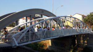 Catanzaro – Aperta al pubblico la passerella pedonale del quartiere Santa Maria