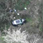 Auto precipita in un burrone, un morto e un ferito grave