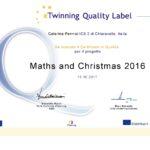 Doppio riconoscimento Etwinning: Quality Label e European Quality Label per la 2^C Scuola Primaria Chiaravalle 2