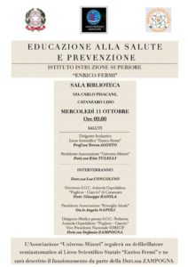 """""""Universo Minori"""" donerà un defibrillatore al liceo scientifico """"Enrico Fermi"""" di Catanzaro"""