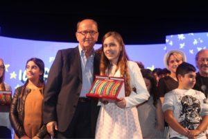 La calabrese Anna Morelli vince la finale junior del Cantagiro 2017