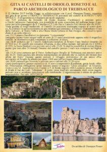 Gita da Soverato ai Castelli di Oriolo, Roseto e al parco archeologico di Trebisacce