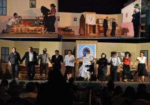La Rizziconi attiva nel teatro e nel segno dell'amicizia