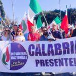Manifestazione del Movimento Nazionale per la Sovranità in favore del lavoro italiano