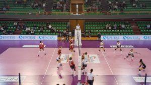 Blitz esterno del Volley Soverato, superata la Savallese Millenium Brescia