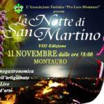 """Sabato 11 Novembre a Montauro """"La Notte di San Martino"""""""