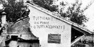 Autunno 1917, il Piave retroattivo
