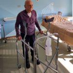 Anziano di 100 anni operato all'Ospedale di Soverato due giorni fa, oggi già cammina