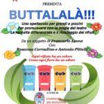 """Badolato – Lunedì 9 Ottobre in scena """"Buttalalà"""""""