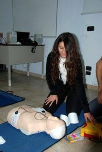 Formati 10 nuovi operatori di Primo Soccorso Blsd con l'utilizzo del defibrillatore