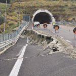 Crolli di strade a Catanzaro e dintorni