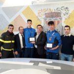 Taekwondo, la Provincia di Catanzaro premia i campioni europei Giuseppe Guarna e Simone Alessio