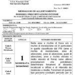 """Piogge e temporali – Allerta Meteo """"Arancione"""" della Protezione Civile per la Calabria ionica"""
