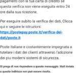 Poste Italiane e i suoi utenti costantemente a rischio hacker e truffatori
