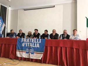 Sette delegati del Soveratese al 2° Congresso Nazionale di Fratelli d'Italia