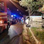 Soverato – Auto si ribalta sulla Via Panoramica, ferite due ragazze