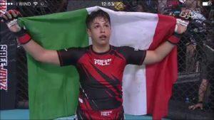 La calabrese Fabiana Giampà campionessa del mondo di Mma