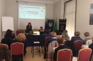 La vice presidente nazionale del Soroptimist d'Italia incontra i club calabresi