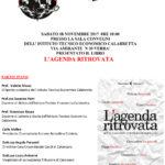 """Soverato – Il Calabretta e l'Osservatorio FBS presentano il libro """"L'agenda ritrovata"""""""