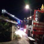 Appartamento in fiamme a Catanzaro