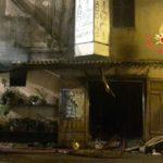 Chiaravalle – Incendio distrugge deposito di addobbi floreali
