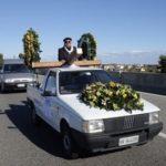 Corteo con carro funebre sulla Statale 106 in segno di protesta