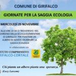 """A Girifalco iniziative per le """"Giornate per la saggia ecologia"""""""